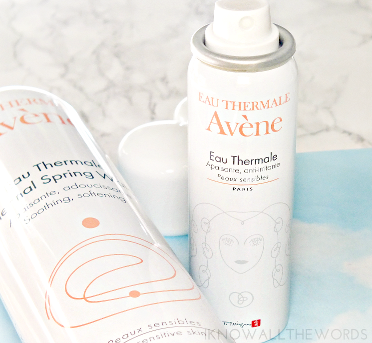 Avene eau thermale 2016 collector spray the flower woman (3)