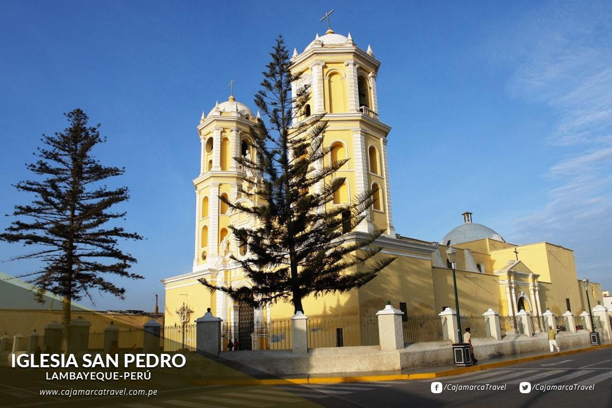 Iglesia San Pedro de Lambayeque.