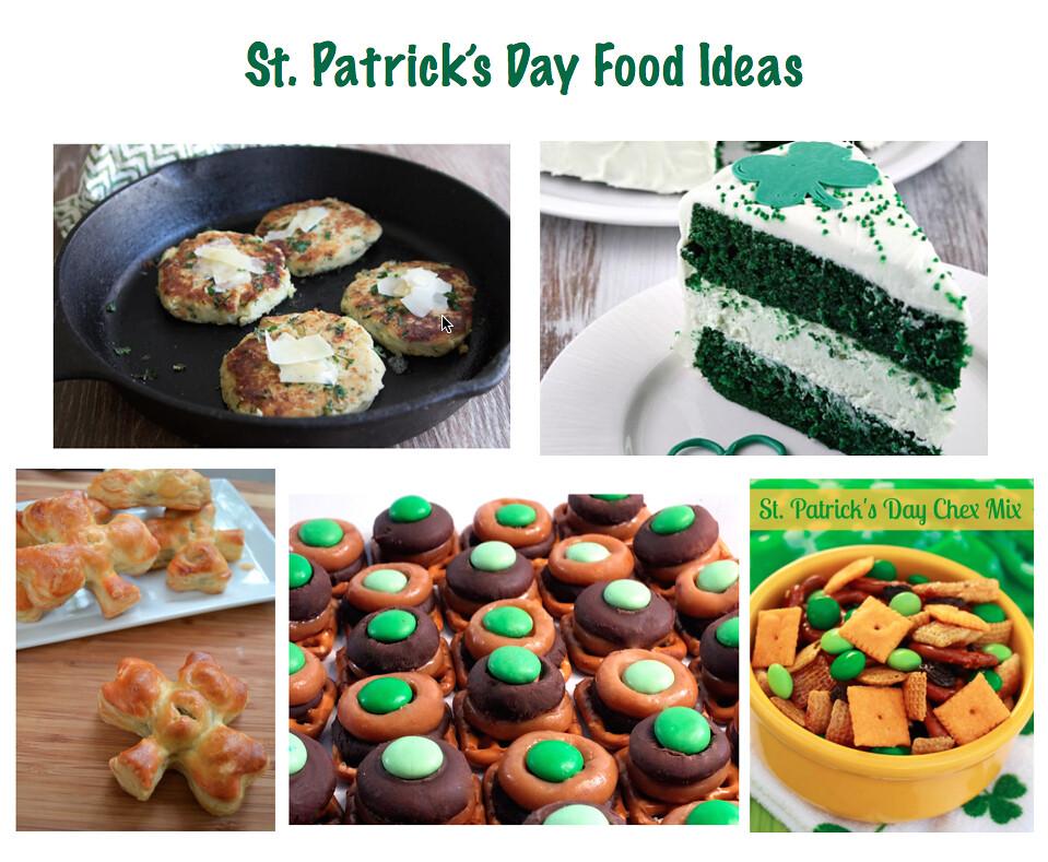 St PaddysDay Food