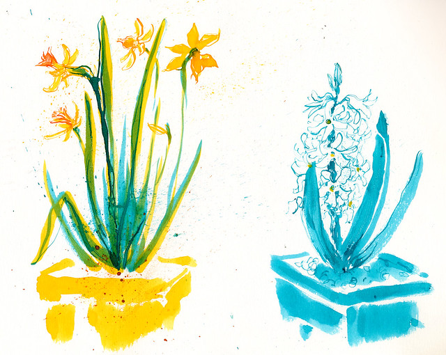 Sketchbook #94: Flowers Status Update