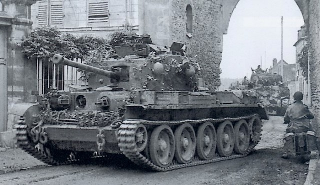 Cromwell mk. VII A27M with 75mm cannon