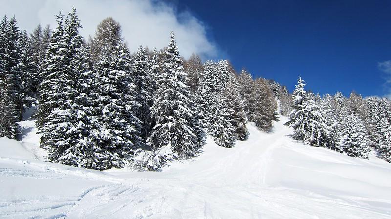 Lenzerheide Schnee Piste