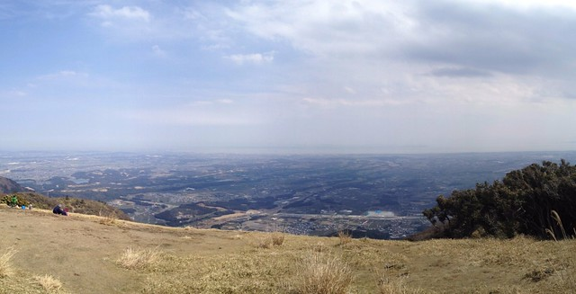 入道ヶ岳 山頂 パノラマ
