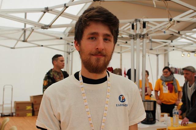 Timothée Ostermann - Festival Le Livre à Metz