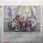 Artikel im Volksblatt