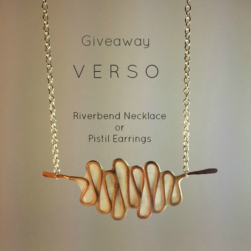 VERSO Studio Riverbend Necklace - Giveaway