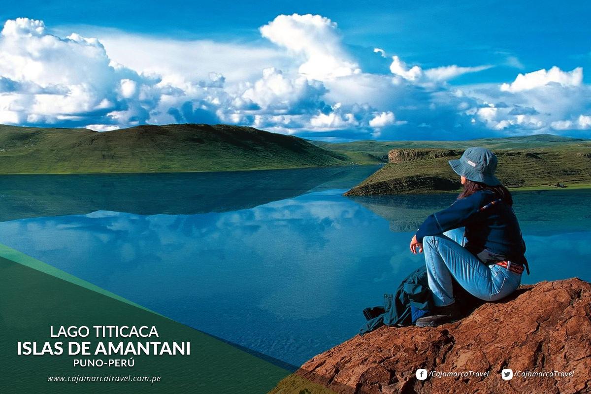 La Isla Amantaní forma parte del conjunto de islas que se encuentran en el circuito del Titicaca. Aquella presenta una superficie total de 64 kilómetros cuadrados.
