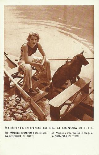 Isa Miranda in La signora di tutti (1934)