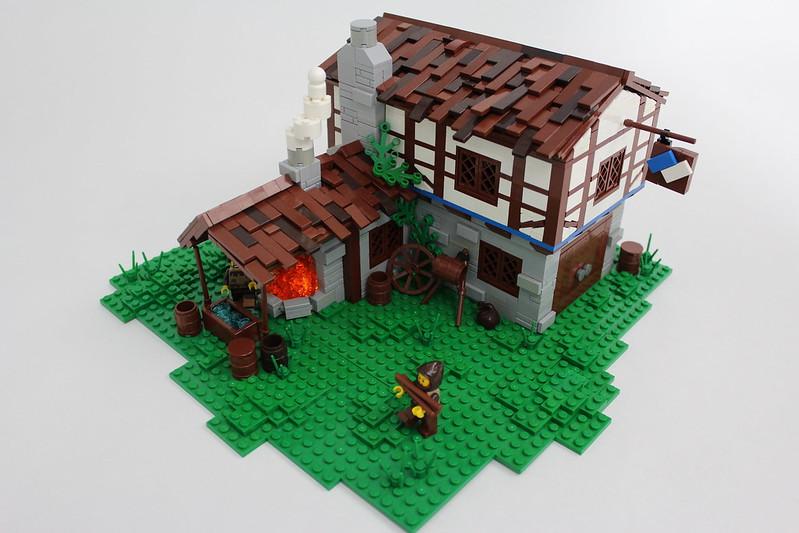 LEGO Age of Empires II - Blacksmith