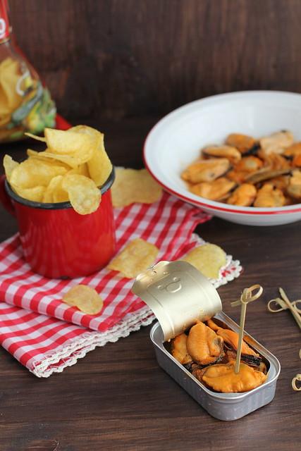 Mejillones en escabeche caseros www.cocinandoentreolivos.com (16)