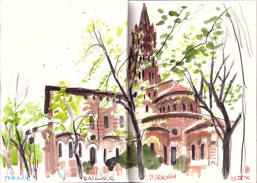 160423 sketchcrawl 51 Toulouse | by Vincent Desplanche