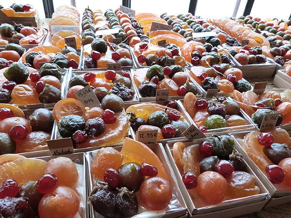 les fruits confits de chez Jouvaud