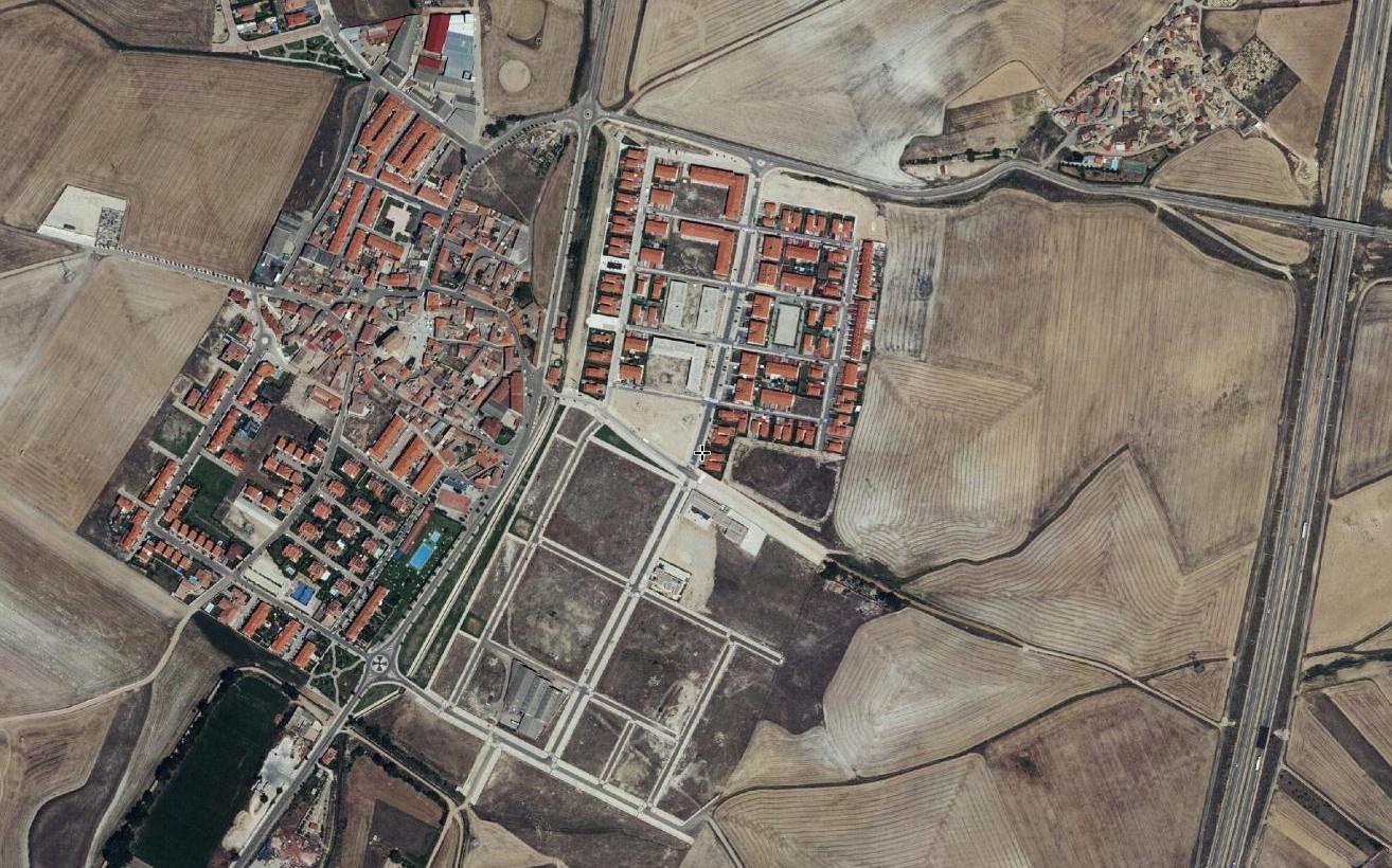 villalobón, palencia, wolftown, después, urbanismo, planeamiento, urbano, desastre, urbanístico, construcción, rotondas, carretera
