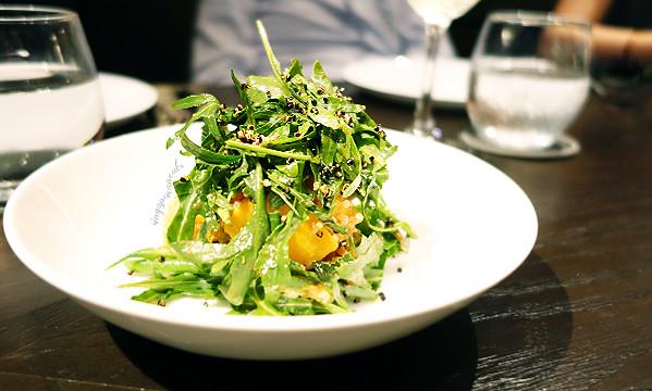 05 Roast Pumpkin Salad, Aragula, Quinoa, Honey Balsamic