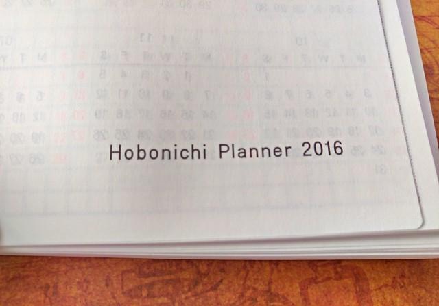 Hobonichi A6 Planner