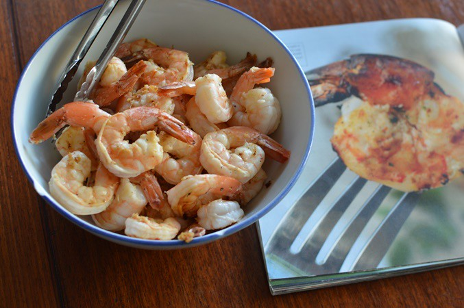 Ginger-lime grilled shrimp