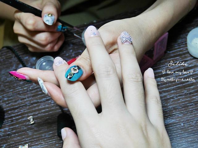 新娘光療指甲美甲推薦 (9)