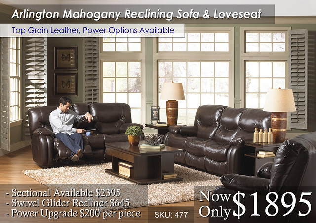 Arlington Reclining Set