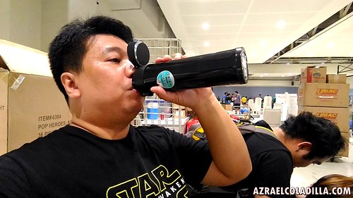 Kujaku one touch steel bottle now available in the Philippines