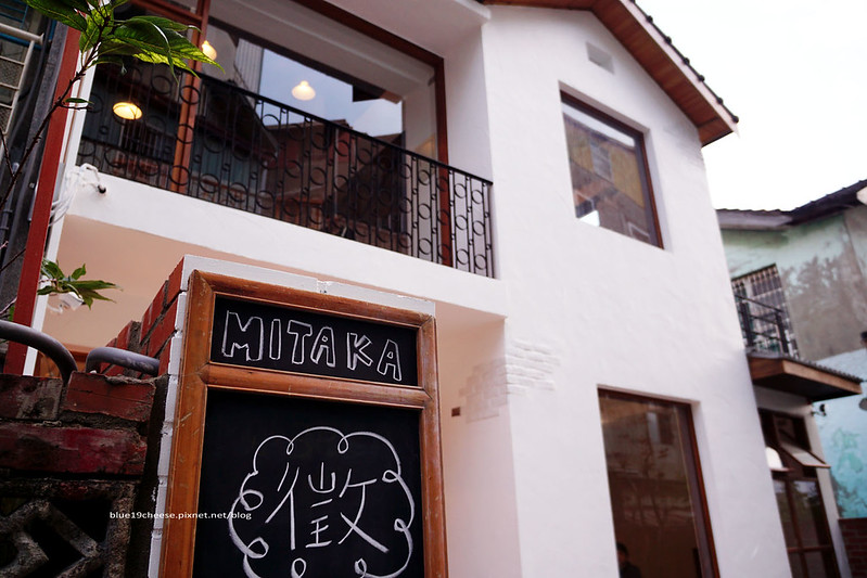 Mitaka s-3e Cafe.小3e - 超隱密老屋咖啡館.清新木質白色調.沙鹿夕陽夜景龍貓雜貨咖啡館.正直村旁巷弄裡