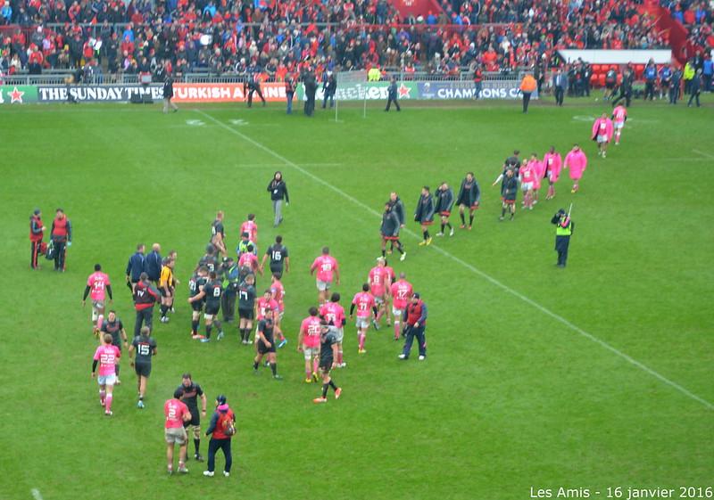 15 et 16 janvier 2016 - Munster vs Stade