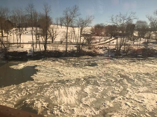 winter westvirginia rivers summerscountywv amtrakviews