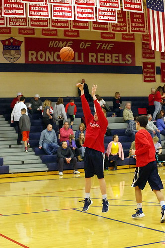 Boys Basketball Frosh vs Greenwood