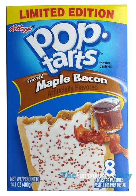 Review Kellogg S Limited Edition Frosted Maple Bacon Pop