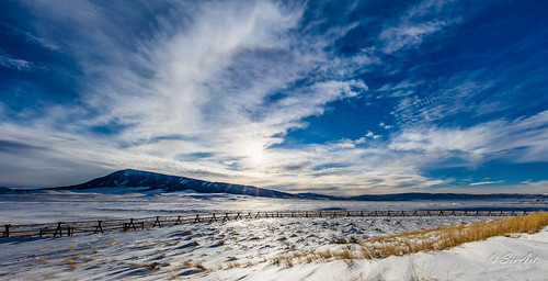 landscape wyoming hdr elkmountain