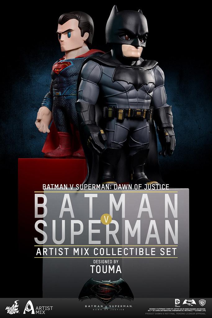 Hot Toys – AMC018 - 019 – 蝙蝠俠對超人:正義曙光【TOUMA 限定】設計師聯名系列