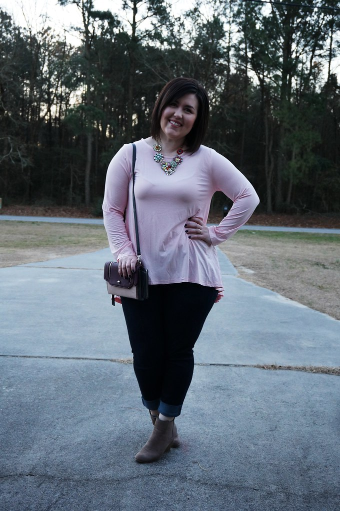 Pink Top for Valentine's Day 3