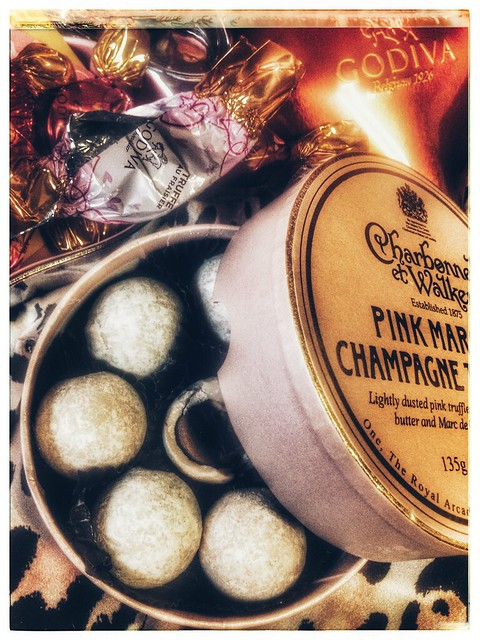 champagne flavoured chocolate