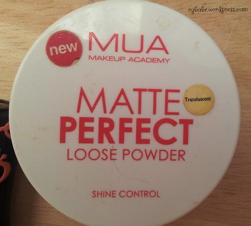 MUA Loose Powder
