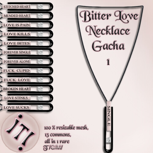 !IT! - Bitter Love Necklace 1 Image