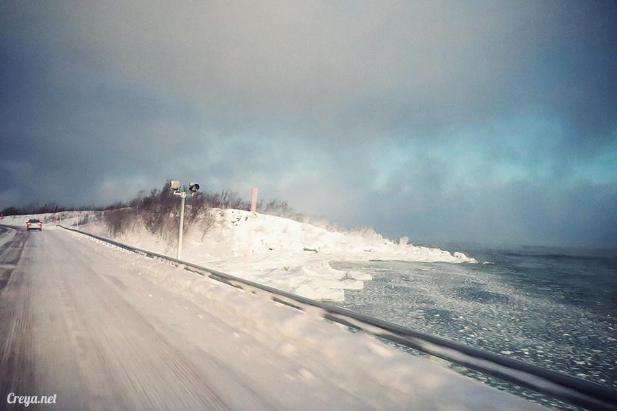2016.02.23▐ 看我歐行腿 ▐ 阿呀~一不小心就從瑞典到了挪威, Narvik 小鎮遇見地理課本中的峽灣 06.jpg