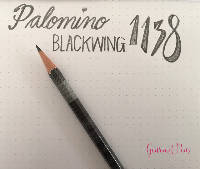 Review @Palomino Blackwing 1138 Limited Edition Pencil @BureauDirect (9)