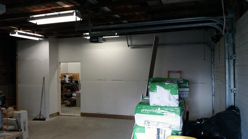 Z Garage Reno Update 2