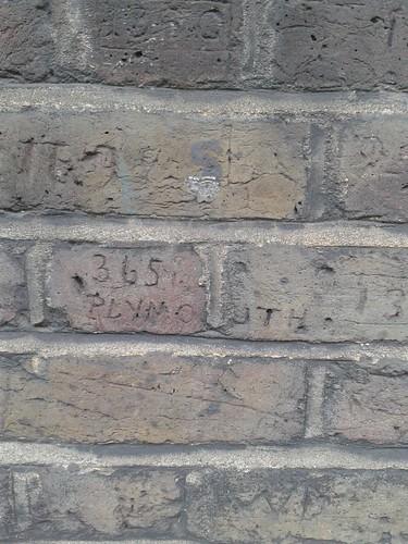 Myddelton Passage Victorian Era Graffiti