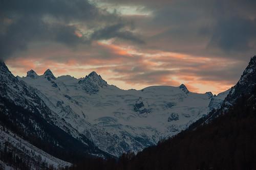 alpes lowlight suiza invierno pontresina