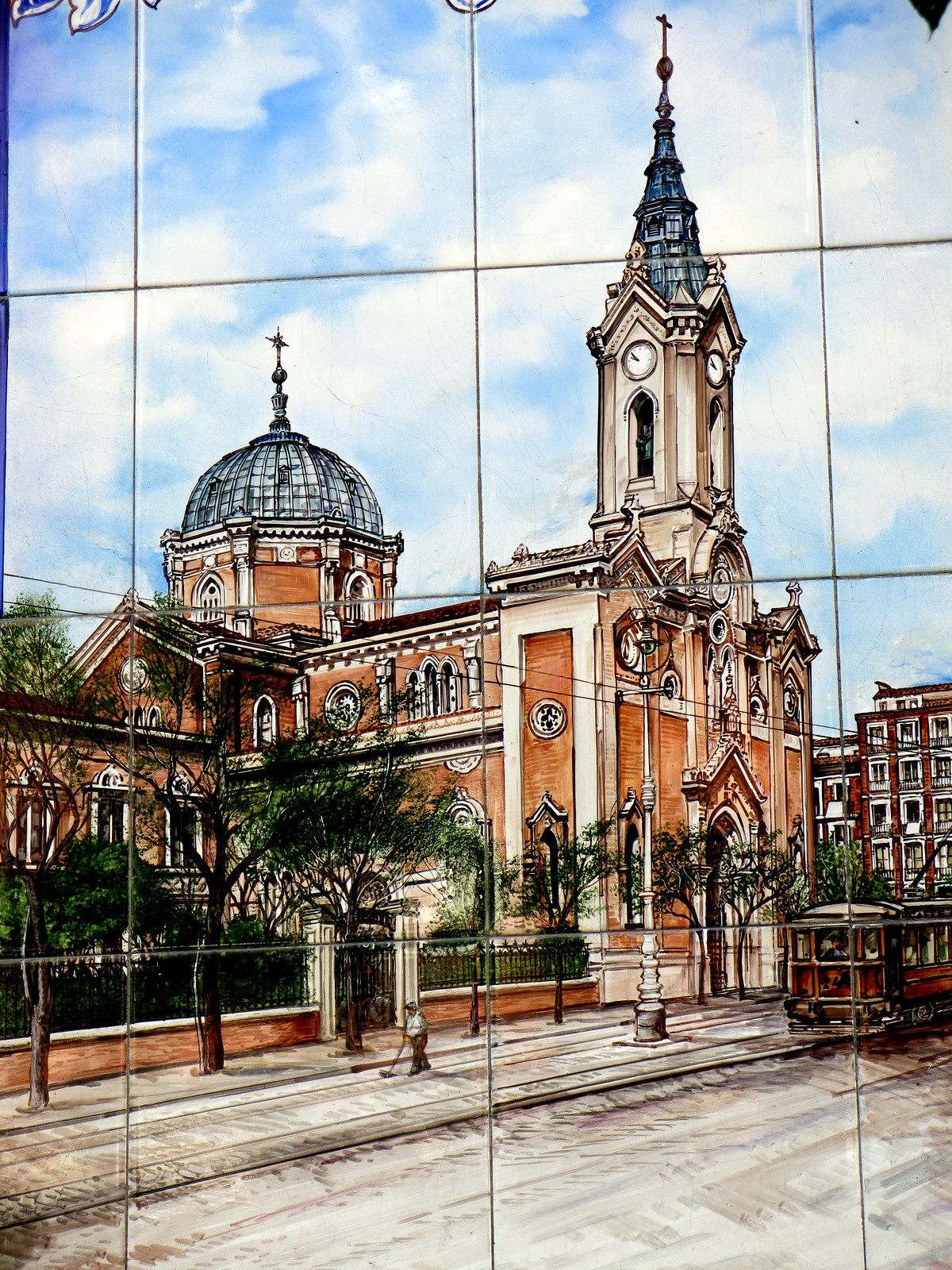 Penúltima iglesia del Buen Suceso de Madrid