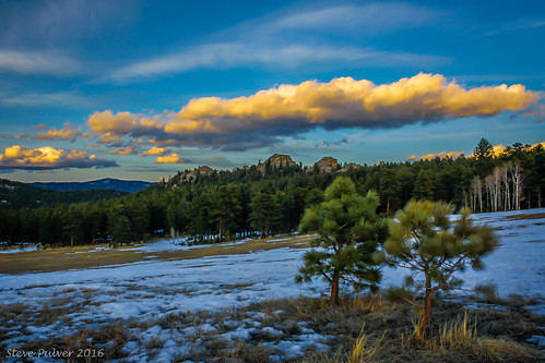 light sunset colorado evergreen threesisters rockymountains alderfer evergreencolorado alderferthreesisterspark jeffcoopenspacepark