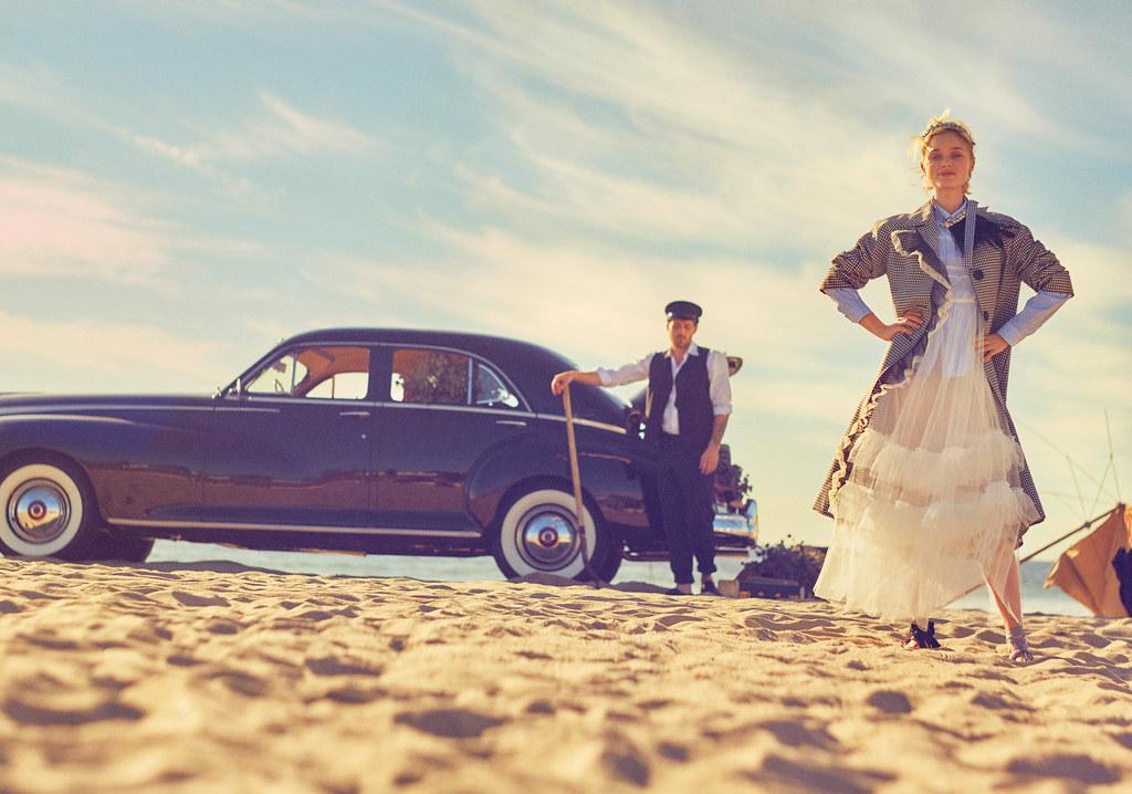 Белла Хиткот — Фотосессия для «Glamour» 2016 – 1