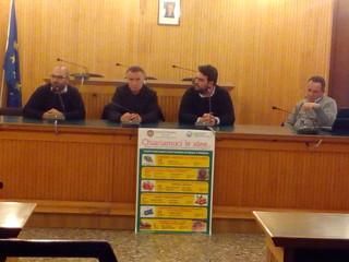 Il tavolo dei relatori - congresso agricoltura rutigliano