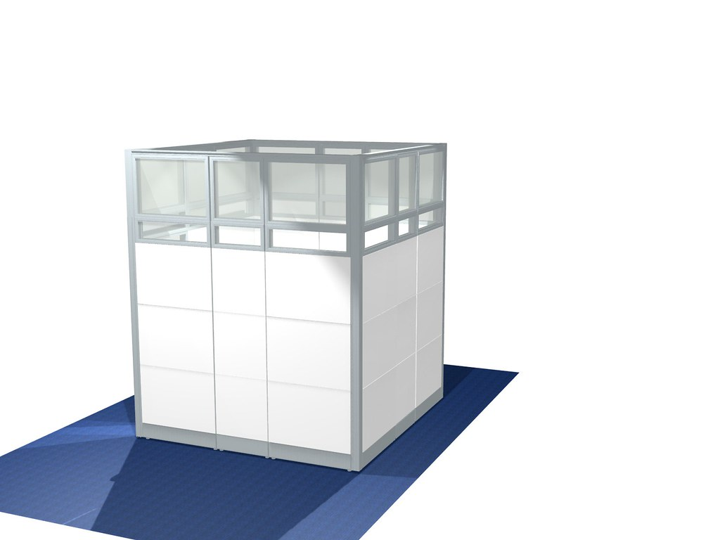 Glass Cubicles With Sliding Door Sapphire Wall System