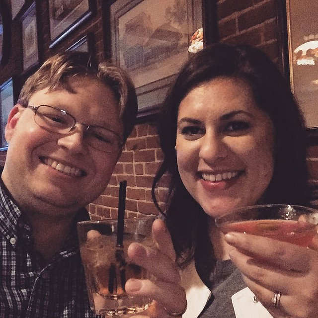 And now we dine! #birthdayweekend #adultbeverages