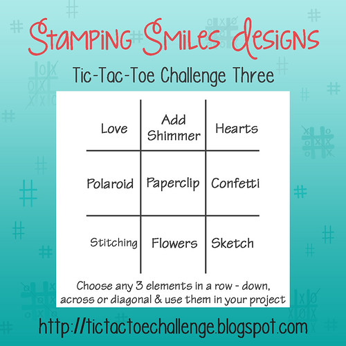 Stamping Smiles Designs Tic-Tac-Toe Challenge 3
