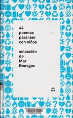 Mar Benegas, 44 poemas para leer con niños