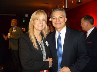 Rep. Mary Dye with Vice Chairman of Boeing, Ray Conner