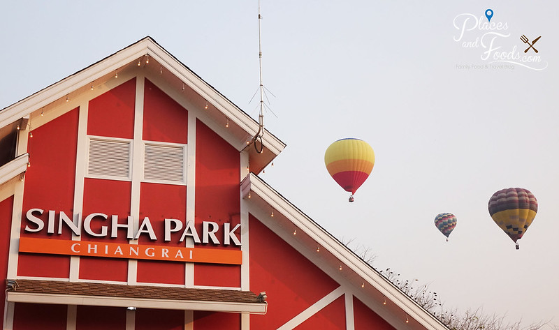 singha park international hot air balloon park and balloons