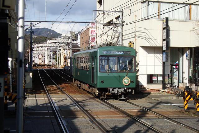 """2016/02 叡山電車731号車""""ノスタルジック731"""" #01"""